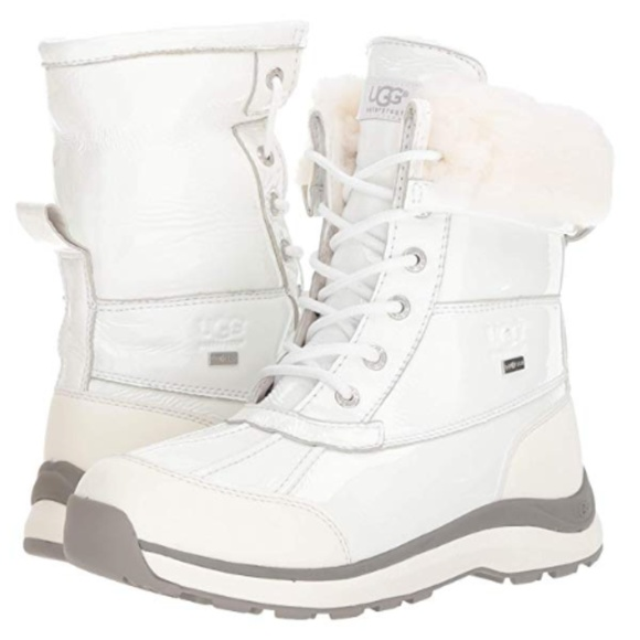 5d6a722d030 UGG Women's W Adirondack III Patent Snow Boot Size NWT